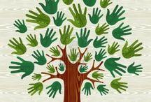 Stromy, les, keře (trees, forest, shrubs)