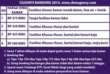 Sewa Bulanan Kamar Kos Bandung