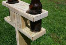 outdoor beer holder