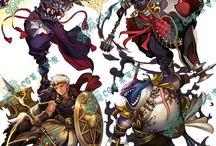 Fantasy karakterek