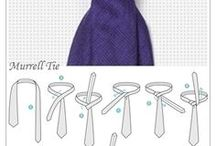 Fashion tie knots for Men