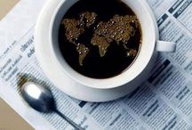 """Coffee / Il caffé contiene buone quantità di antiossidanti, come l'acido caffeico, il cafestolo e il kahweolo, che hanno già dimostrato proprietà protettive sul DNA. I dati di uno studio statunitense ora mettono in luce che, già con un consumo medio di 3 tazze al giorno di caffé con caffeina, il rischio relativo di mortalità per tumori si riduce notevolmente. Il caffe' può considerarsi un alimento """"amico"""" per chi è a dieta. www.nutriercol.it"""