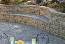 Retaining garden walls