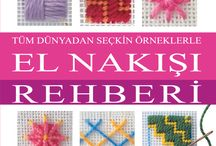 embroidery books  / embroidery books by TUVA