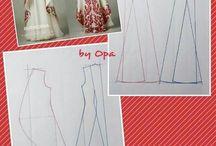 #Gamis Pecah Pola, #Pattern