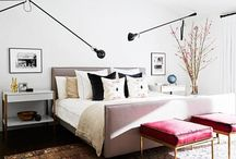 Master Bedroom / Sophisticated Master Bedroom inspiration. Perfect for both him and her.