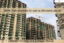 3BHK Flats available for sale at affordable prices / Premium quality 3BHK flats under construction in ATS #CasaEspana Township, #Mohali. To book your flat, call at : 9888449029