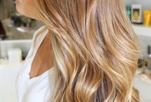 warm blonde highlights