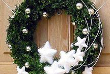 deurkrans kerst