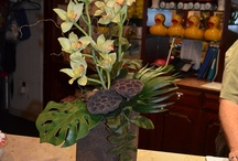 Silk Floral Designs / Designs that last and last - a look real while they are doing it!