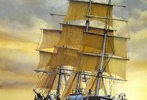 Schip / Verschillende foto's over schepen