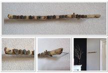 Riviersteentjes / Riviersteentjes, drijfhout en mooie tekst