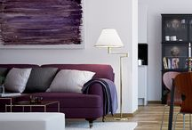 Decorate with PURPLES / all things purple when it comes to home interiors!