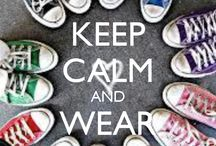 Keep calm and wear CONVERSE!!