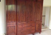 Antique wardrobes and presses / Antique wardrobes and linen presses