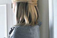 hairstyles to try / by Jessica Hull