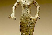 etrusque  statue