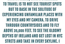 Words About Travel
