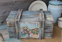 Vintage cajas