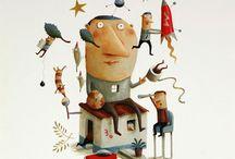 Illustration - João Vaz de Carvalho / by Laurie Keller
