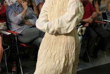 Curso de Diseño de Moda / Trajes de final de cursos de los alumnos de Diseño de Moda