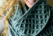 Scarf-cowl crochet