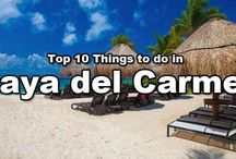 Things to do in Playa del Carmen / If you're planning a vacation to Playa del Carmen, odds are you're looking forward to many a day spent tanning and sipping margaritas on the beach. And while you wouldn't be disappointed— Playa has some seriously luxurious beaches— any visitor would be remiss to not throw their sandals on and explore the rest of what Playa has to offer.