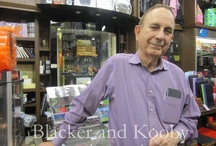 Blacker and Kooby  / The staff at our old store, 1204 Madison Avenue, NYC 10128
