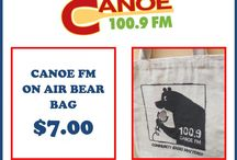Canoe FM Products for Sale