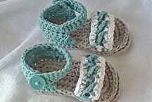 zapatitos de crochet / zapatitos para bebes