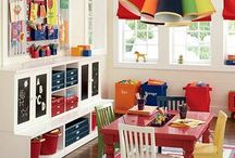 Kid Play Areas / Ideas for my future kiddos. / by Nichole Diluzio