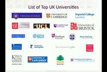 Benifits of Study in Top UK Universities