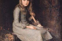 Painting / portrait / child