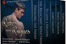 Rakes and Rogues / Rakes and Rogues abound in this six-book collection of secrets, spies, vengeance, and lust.