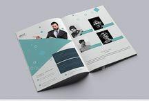 Multi-page bi-folds / Booklets / Catalogs / Portfolio