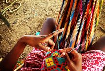 Wayuu Tribe / Our unique handbags and Mochila bags are handwoven by indigenous tribes from Colombia, mainly Wayuu Women in La Guajira. These pictures were taken in our trips living with the communities and sharing time with the weavers who make our bags! Thanks for supporting our social enterprise .