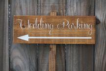 Wedding theme: public car park / Public car park