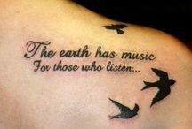 Tattoo Quote Design