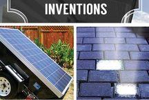 Solar panel inventions