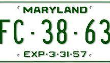 Maryland License Plates / Maryland License Plates