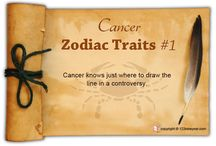 Cancer Zodiac Traits / Find out about Cancer characteristics and Cancer personality traits.