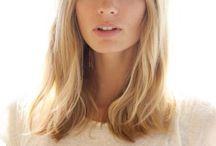 Hair shapes mid length