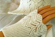 Pletení rukavice