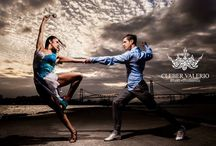 """""""DANÇO MINHA CIDADE""""  PROJECT (""""CITY DANCERS"""") / In Florianopolis, Brazil, Cleber Valerio and Jordane Marques photographed amazing Brazilian dancers in beautiful beaches and cityscapes.  This work has been exhibited in museums, galleries and public spaces. Free exhibitions, bringing art to the public."""