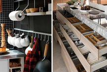 Tárolási ötletek konyhába