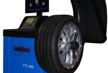 Reifenauswuchtmaschine / PKW Auswuchtmaschinen bei www.werkstattportal24.de - einfach - wirtschaftlich - günstig