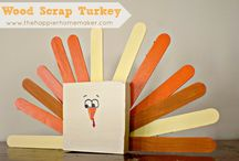 Thanksgiving crafts / by Molly Smith