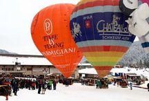 Chateau d'Oex International Balloon Festival Switzerland
