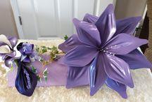 fantasy flowers / balloon fantasy flower arrangements