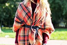 Styling | Blanket Cape / I do love a blanket cape to wrap up in the winter.